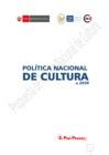 Ver informe Propuesta de Política Nacional de Cultura al 2030