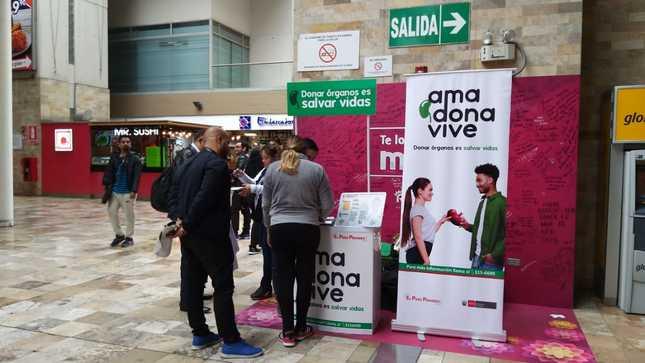 Más de 500 personas se inscribieron como donantes de órganos en el Centro Cívico de Lima