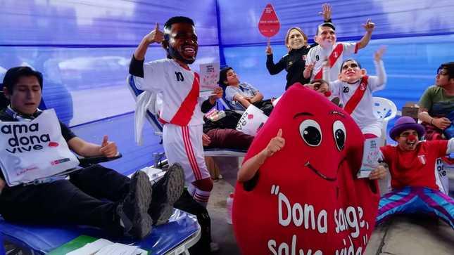 Universidad Mayor de San Marcos dona sangre que beneficiará a pacientes de cinco hospitales de Lima