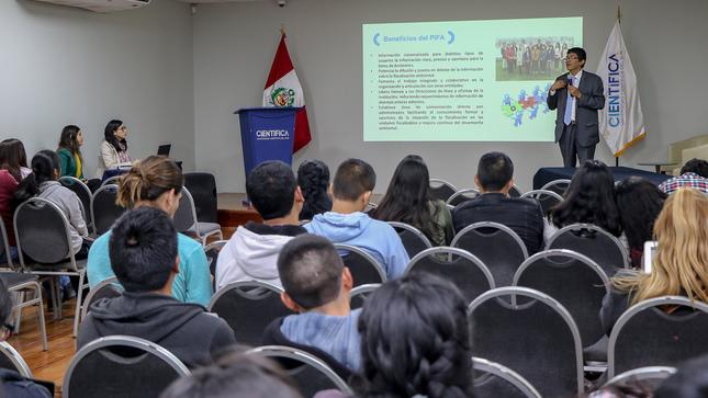 OEFA presentó a estudiantes su Portal Interactivo de Fiscalización Ambiental (PIFA)