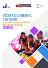 Ver informe Desarrollo Infantil Temprano en niñas y niños menores de 6 años de edad  ENDES 2018