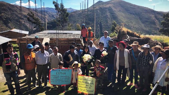 MINJUSDH otorga reparaciones colectivas para 58 comunidades afectadas por el periodo de violencia