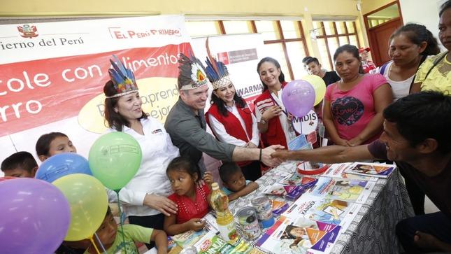Gobierno trabaja de manera firme para acercar los servicios del Estado a todos los peruanos