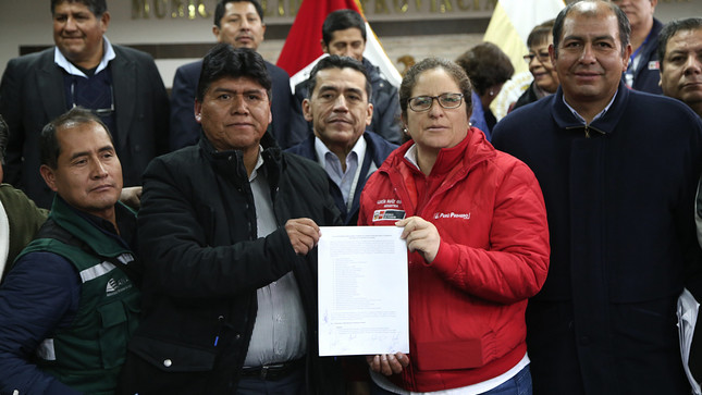 Cusco: Se inicia mesa de diálogo que promoverá el desarrollo sostenible de la provincia de Espinar
