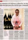 Ver informe Entrevista al ministro de Defensa, José Huerta Torres, en el diario La República