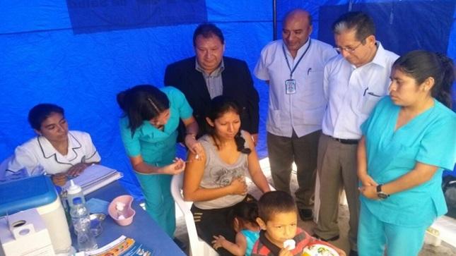 Minsa destinó 148 mil vacunas contra la influenza para Lambayeque