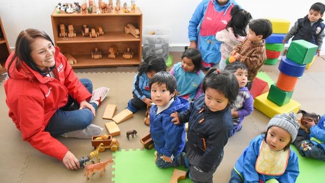 Trabajo por la primera infancia de Cajamarca será el principal objetivo de la articulación, reafirmaron ministra Paola Bustamante y gobernador Mesías Guevara