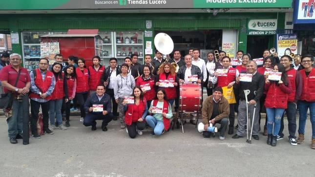 Conadis realiza campaña de PASE LIBRE en Puente Piedra