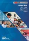 Ver informe Memoria 2011 - 2016: Dirección General de Medicamentos, Insumos y Drogas - DIGEMID