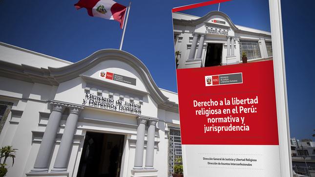 MINJUSDH presenta compendio de normativa y jurisprudencia  sobre Derecho a la Libertad Religiosa en el Perú