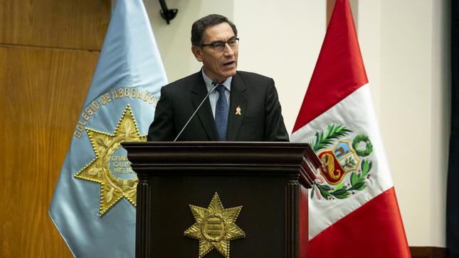 """Presidente Vizcarra: La lucha frontal contra la corrupción y la impunidad """"es irreversible"""""""