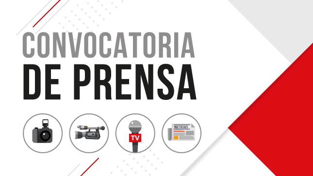 CONVOCATORIA DE PRENSA