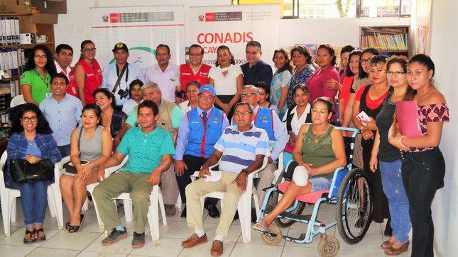 El Registro Nacional de la Persona con Discapacidad del CONADIS llega a Ucayali