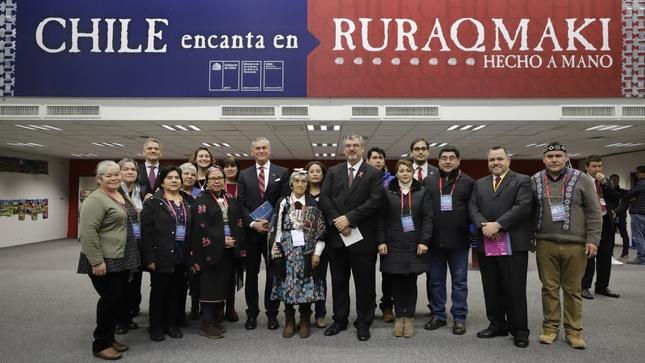 Ministro Castillo inauguró Ruraq maki la feria de arte tradicional más importante del país