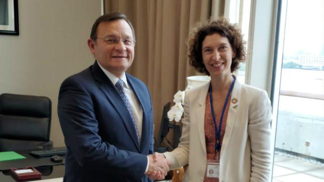 Canciller del Perú se reunió con su homóloga de Andorra
