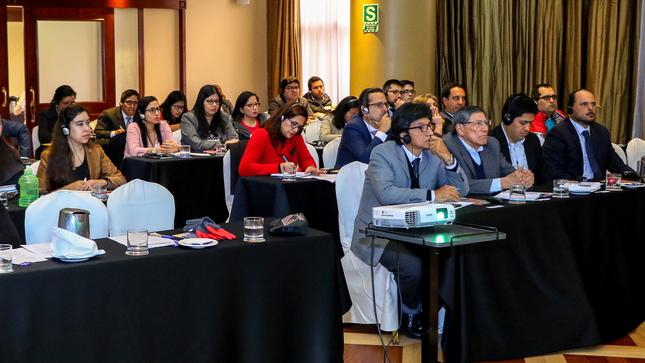 OEFA realiza taller internacional para fortalecer la fiscalización ambiental en el Perú