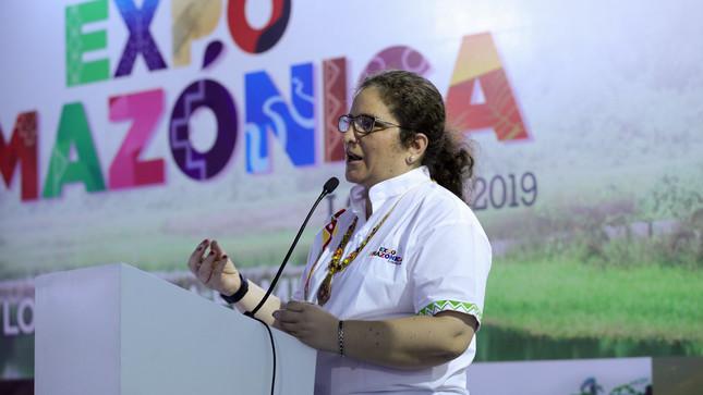 """Ministra del Ambiente: """"Valoramos los recursos de la Amazonia para evitar la deforestación"""""""