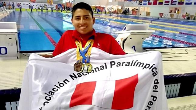 Conoce al deportista peruano más joven  de los Parapanamericanos