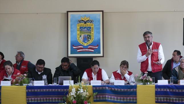 Ejecutivo, autoridades y comunidad de Candarave instalan mesa de diálogo en la zona