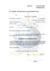 Ver informe Solicitud de Ficha de Canje Internacional (Interpol)