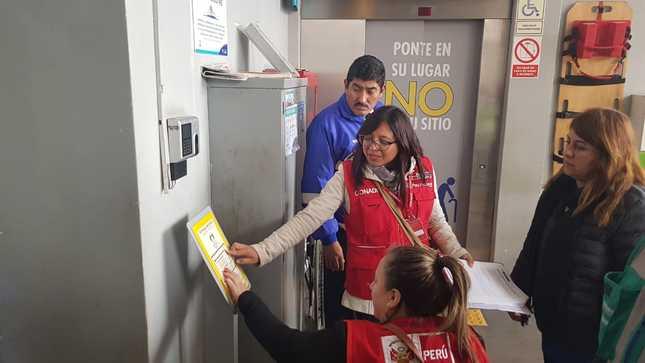 Fiscalización al terminal Matellini del Metropolitano