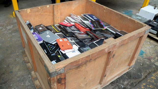 Residuos de aparatos eléctricos y electrónicos también pueden reutilizarse