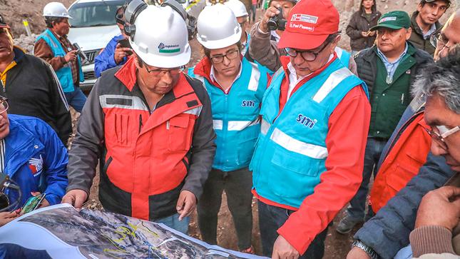 Ejecutivo continúa diálogo con pobladores de Tumilaca