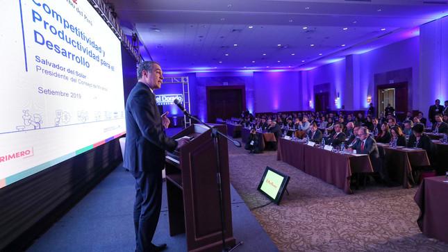 Plan Nacional de Competitividad permitirá al Perú estar a cargo de los factores que permitan lograr su crecimiento