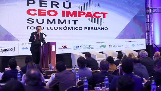 Presidente Vizcarra: Mejoramos la competitividad para lograr el ansiado desarrollo en beneficio de todos los peruanos