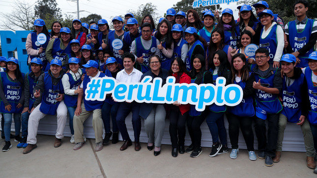 """Ministra Lucía Ruiz presenta estrategia multisectorial y descentralizada """"Perú Limpio"""""""