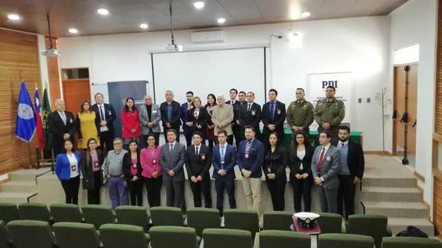 Ministerio de Cultura capacitó a más de 30 miembros de  Policía de Investigaciones-Brigada Investigadora de Delitos Contra el Medioambiente y Patrimonio Cultural de Chile