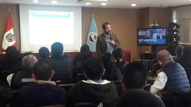 MINJUSDH capacitó a servidores de IMARPE  en integridad y ética en la función pública