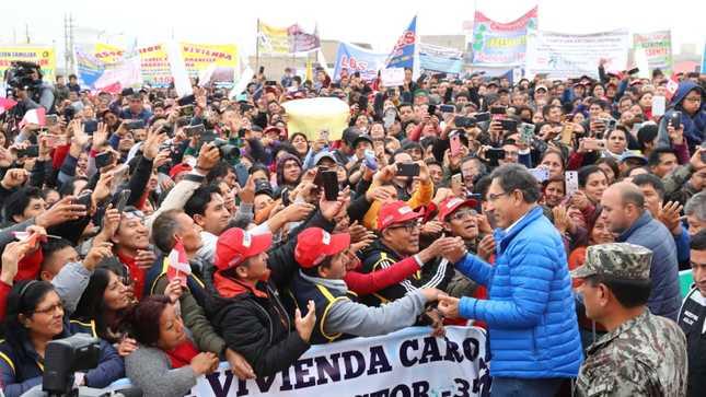 Presidente Martín Vizcarra: Las autoridades nos debemos al pueblo