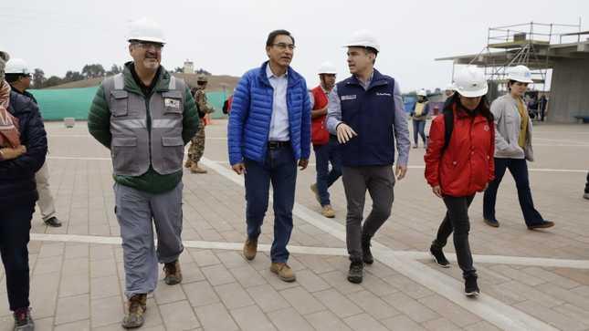 Presidente de la República destacó avances en la construcción del Museo Nacional de Arqueología – MUNA en Lurín