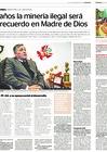 Ver informe Entrevista al ministro de Defensa, Jorge Moscoso Flores, en el diario El Peruano