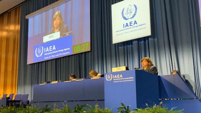 Participación del Perú en la 63º Conferencia General de la Organización Internacional de Energía Atómica