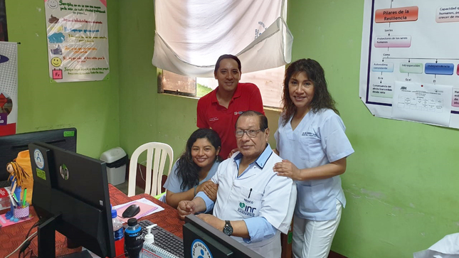 El Conadis inscribió en el Registro Nacional de Personas con Discapacidad a pobladores que residen en la zona del VRAEM