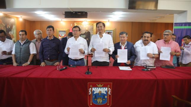 Se ejecutará enrocado definitivo en ocho puntos críticos del río Piura para evitar posibles desbordes por lluvias