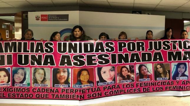 """MIMP se reúne con el Colectivo """"Familias Unidas por Justicia: Ni una asesinada más"""""""