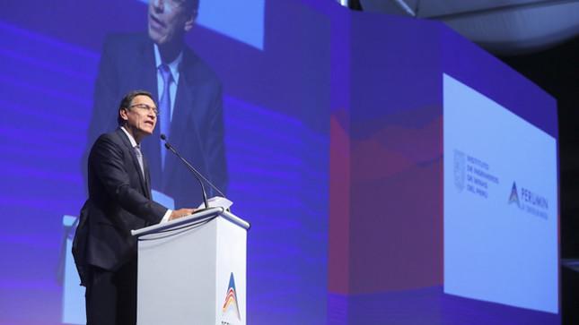 Presidente Vizcarra: El Perú vive hoy un proceso de cambios que nos permitirán dar el salto a la modernidad y el desarrollo