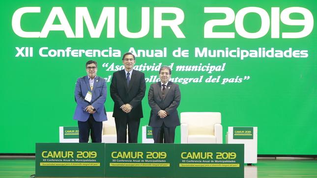 Presidente Vizcarra a Alcaldes de Municipios Rurales: Sean firmes y fuertes contra la corrupción y prioricen las obras que beneficien al pueblo