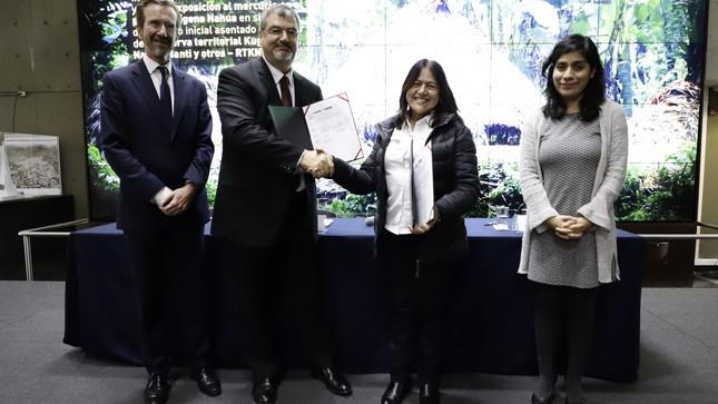 Ministerios de Ambiente y Cultura determinarán fuente contaminante del pueblo indígena Nahua