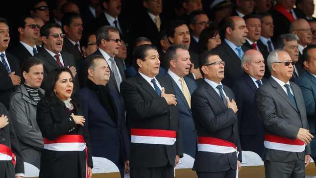 Ministro de Vivienda participó en conmemoración del 140° aniversario del Combate de Angamos y Día de la Marina de Guerra del Perú