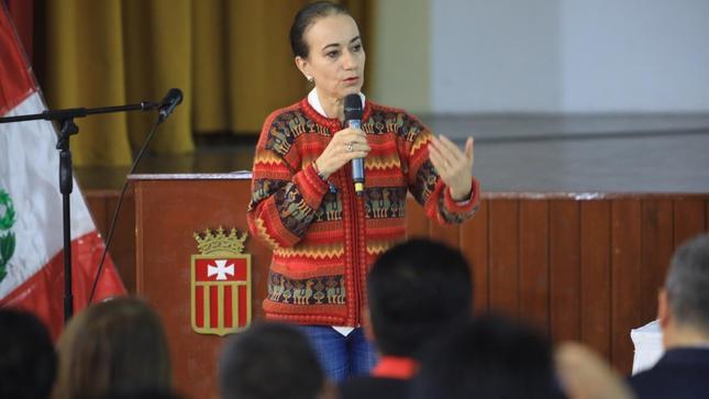 Titular del MINJUSDH dio charla magistral a las autoridades de Áncash sobre valores y ética para lucha contra la corrupción