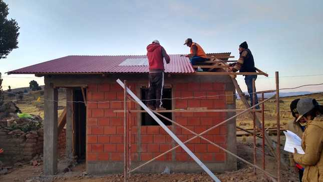 Convocan a 131 profesionales para desarrollar funciones de supervisión y evaluación en obras de viviendas rurales