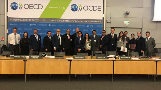 Perú obtiene aprobación en la primera fase de evaluación del Grupo Antisoborno de la OCDE