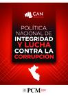 Ver informe Política Nacional de Integridad y Lucha contra la Corrupción