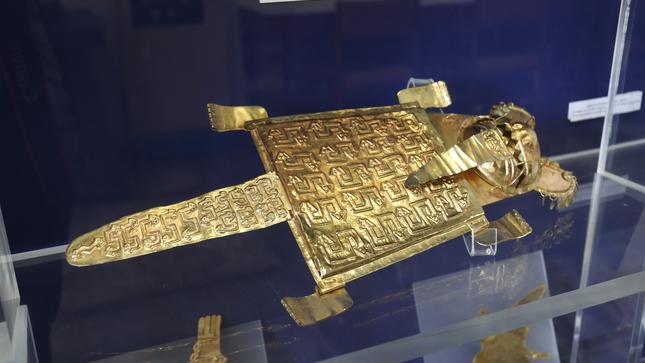 """La muestra """"Réplicas de ornamentos y joyas de las culturas prehispánicas"""" permanecerá abierto al público hasta diciembre"""