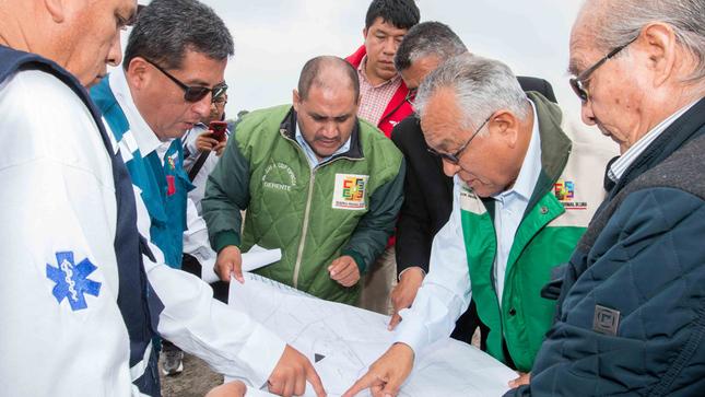 GOBERNADOR INSPECCIONA TERRENO DESTINADO PARA LA CONSTRUCCIÓN DEL HOSPITAL DE BARRANCA