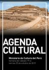 Ver informe Agenda cultural - semana del 19 al 25 de octubre